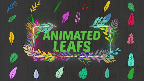 Animated Leafs || After Effects