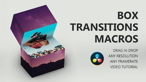 Box Transitions for DaVinci Resolve