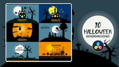 Halloween Background | DaVinci Resolve