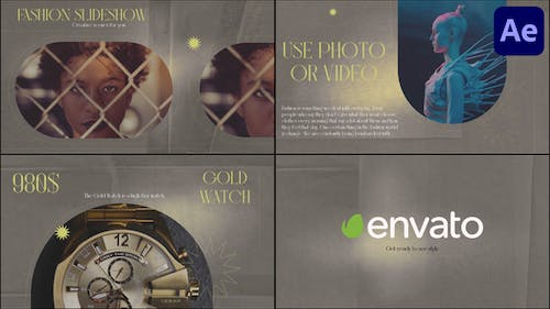 Fashion Slideshow | After Effects