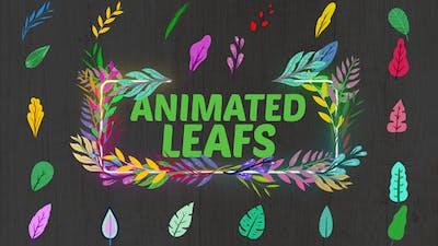 Animated Leafs || Premiere Pro MOGRT