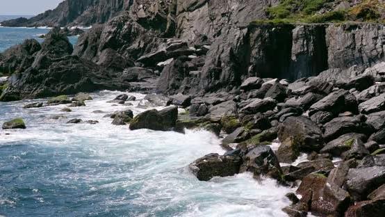 Meereswelle und Ozean