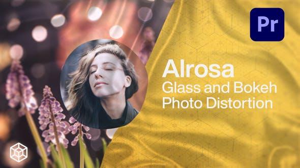 Alrosa - Glass and Bokeh Photo Distortion