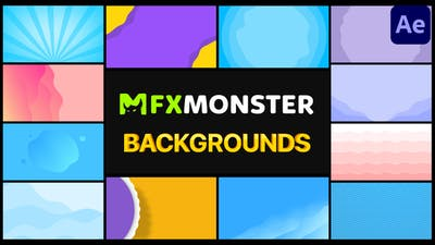 Colorful Backgrounds | After Effects