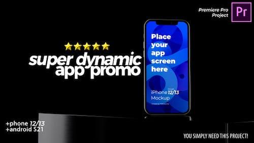 Super Dynamic App Promo - Phone 13 - Android - App Demo Video Premiere Pro