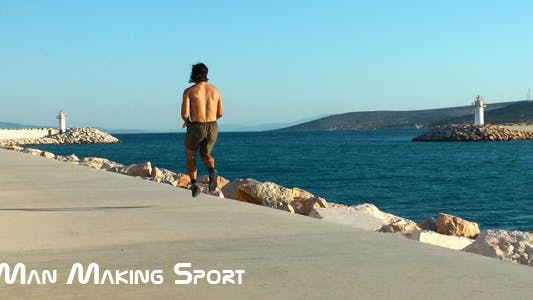Thumbnail for Man Making Sport 2