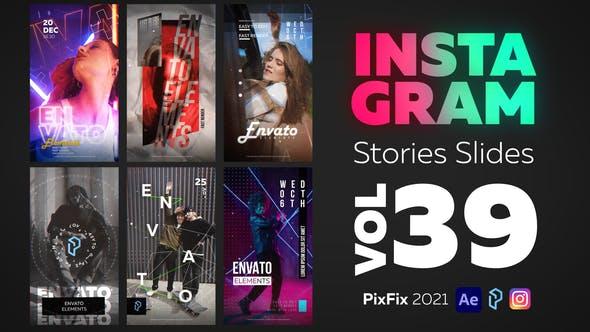 Instagram Stories Slides Vol. 39