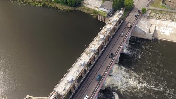 Thumbnail for Top View of a Weir