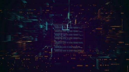 Hacker Text Background