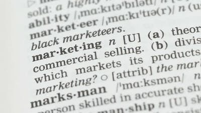 Marketing, Meaning Written in English Vocabulary, Successful Business Planning