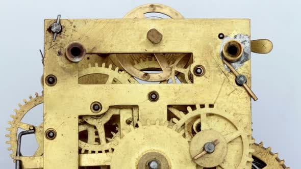 Thumbnail for Mechanical Antique Vintage Clock