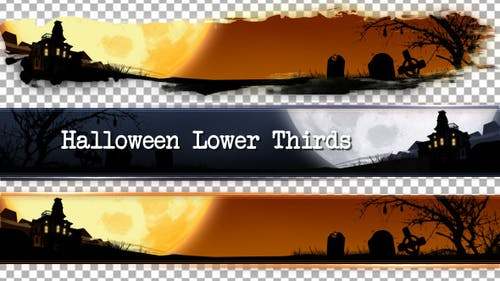 Halloween Unterer Drittel