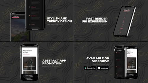 Abstract App Promo