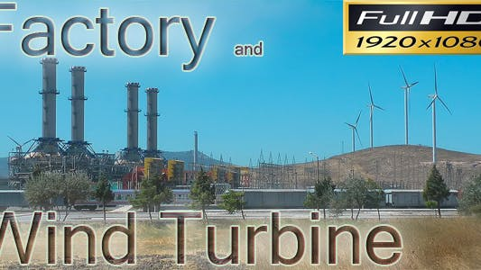 Thumbnail for Factory And Wind Turbine