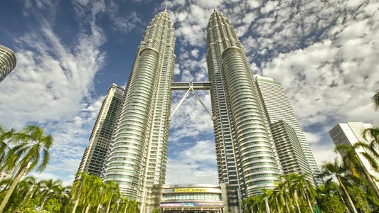 Thumbnail for Kuala Lumpur Twin Towers Timelapse HDR