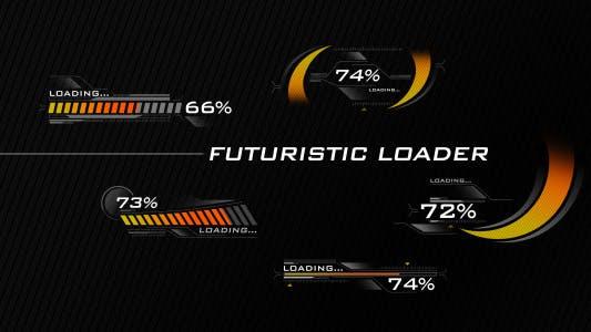 Thumbnail for Futuristic Loading Screen