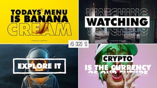 Typography Intro | MOGRT