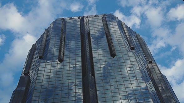 Thumbnail for Moderner Wolkenkratzer und blauer Himmel