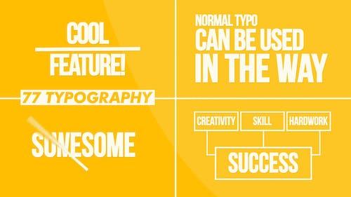 Typography | MOGRT