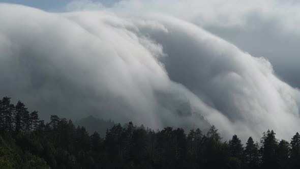 Mountains Orographic Clouds