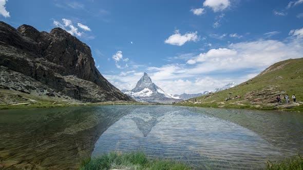 Thumbnail for Matterhorn in the Swiss Alps Timelapse