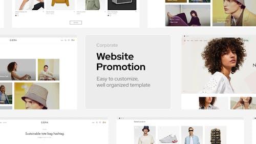 Corporate Website Promo
