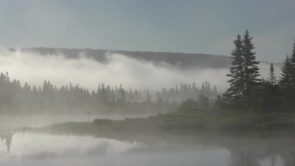 Thumbnail for Lake or Pond Parc Nationale Du Mont-tremblant in Summer in Quebec