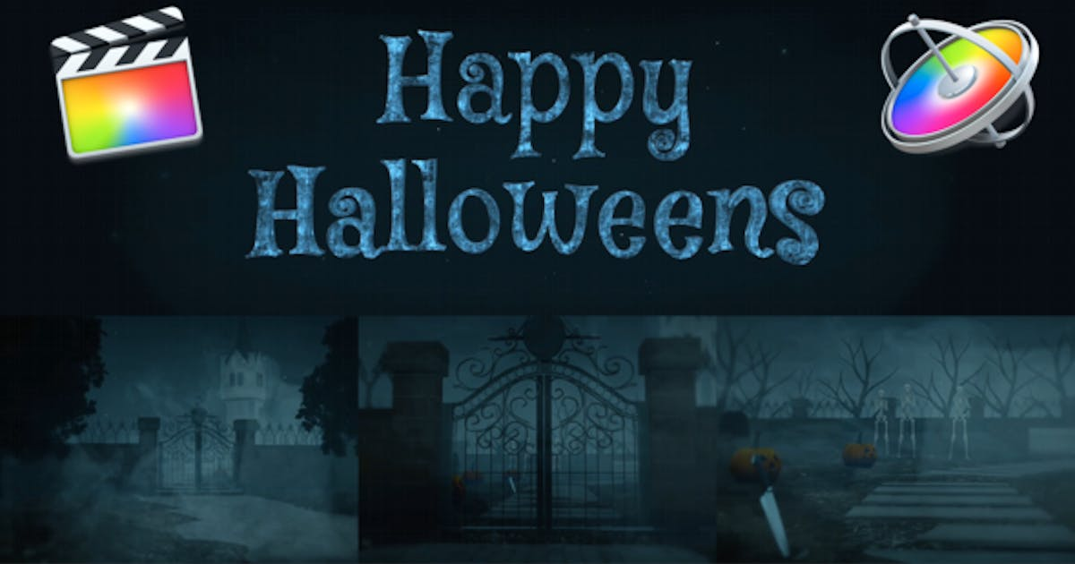 Download Halloween Title Opener for FCPX by MotionEasy