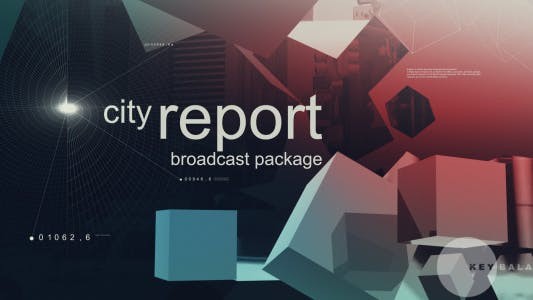 Thumbnail for City Report Broadcast Package