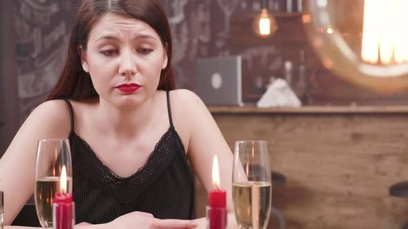 Thumbnail for Unhappy Young Woman After Being Deceived By Her Boyfriend