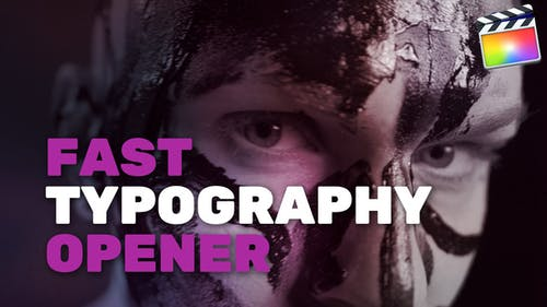 Fast Typography Opener