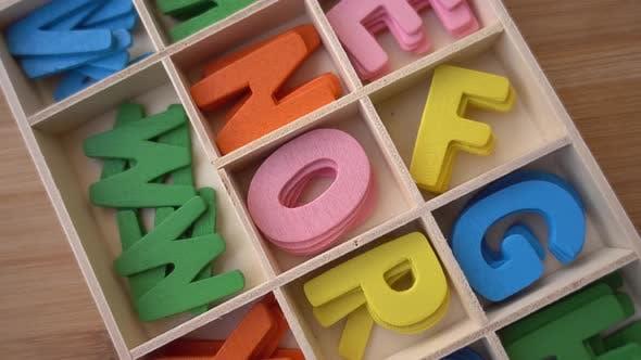 Thumbnail for Education School Alphabet Letters