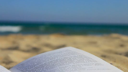 Thumbnail for Book On Beach