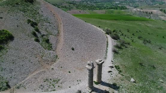 Thumbnail for Hill And Statue Aerial View