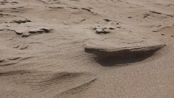 Thumbnail for Sand Movements Shaped by the Wind in The Desert