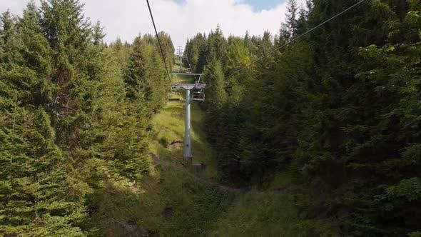 Nobody on the Ski Lift