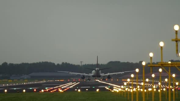 Thumbnail for Widebody Airplane Landing