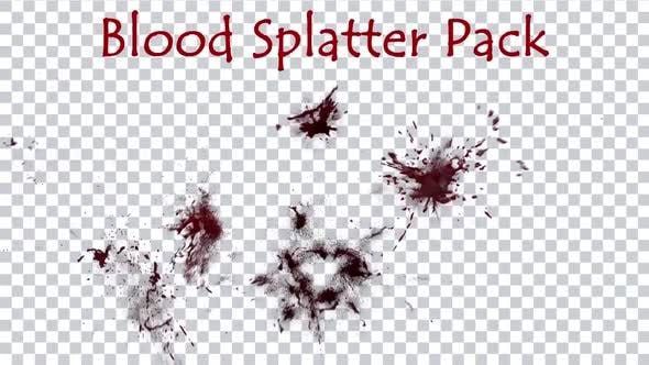 Blood Splatter Pack 1080p