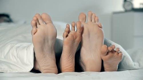 Flirten Füße