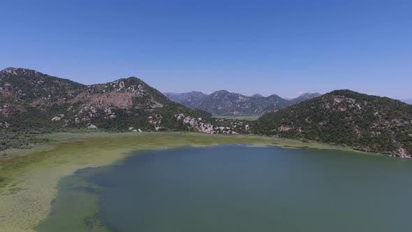 Thumbnail for Aerial View of Skadar Lake in Montenegro at Summer