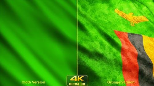 Sambia Flaggen