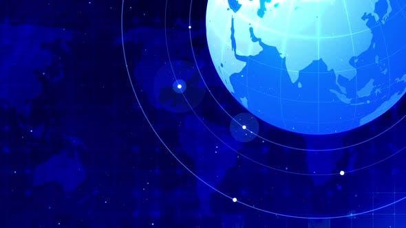 Thumbnail for Spinning Globe Hi Tech