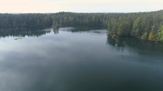 Thumbnail for Flying Between Trees And Over The Lake