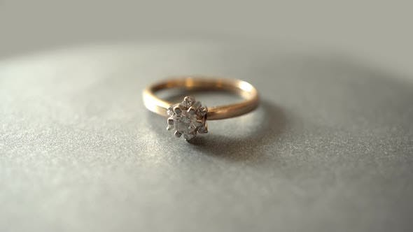 Thumbnail for Rotation Engagement Ring With Diamonds
