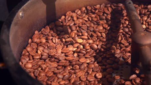 Coffee In Roasting Machine 9