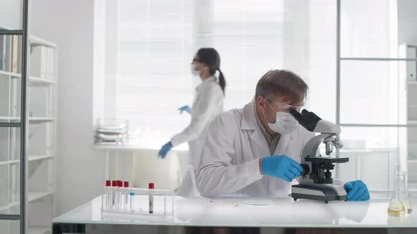 Thumbnail for Biomedical Scientist Doing Research