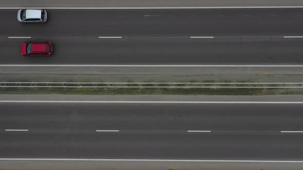 Thumbnail for Aerial Video. Flying Over the Highway.