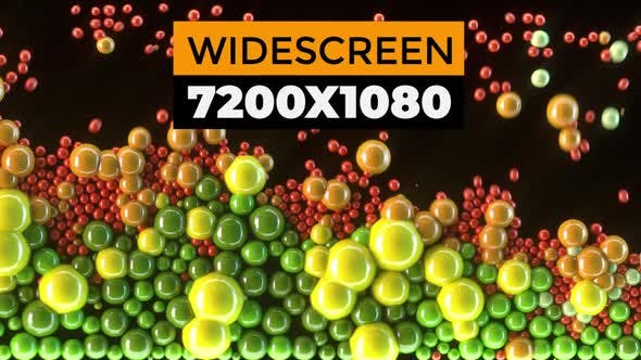 Thumbnail for Colorful Spheres Widescreen