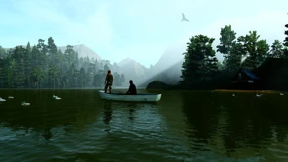 Thumbnail for Fishermen in the Lake