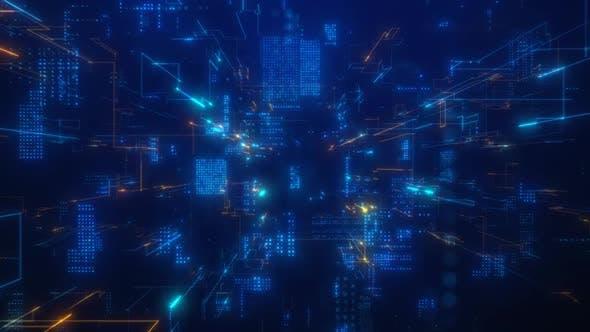 Thumbnail for Digital Data Network Space 4K